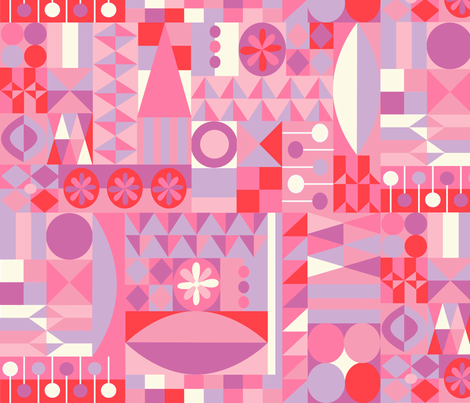 Sweethearts fabric by friedbologna on Spoonflower - custom fabric