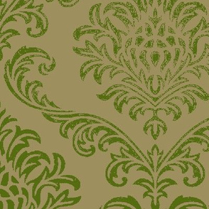 Timeless brocade/ Fern