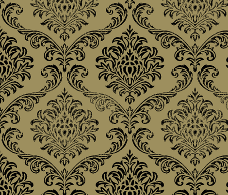 Timeless brocade/ camel fabric by paragonstudios on Spoonflower - custom fabric