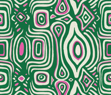 Michelle Green fabric by chicca_besso on Spoonflower - custom fabric