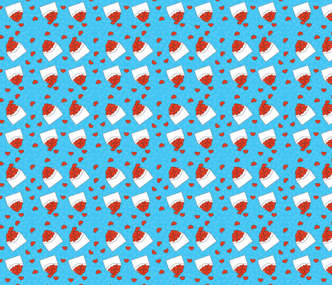 35-LoveLetters fabric by witee on Spoonflower - custom fabric