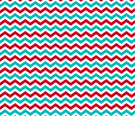 Carnival Chevron fabric by risarocksit on Spoonflower - custom fabric