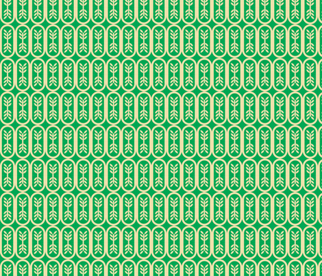green_budding_linen_small fabric by holli_zollinger on Spoonflower - custom fabric