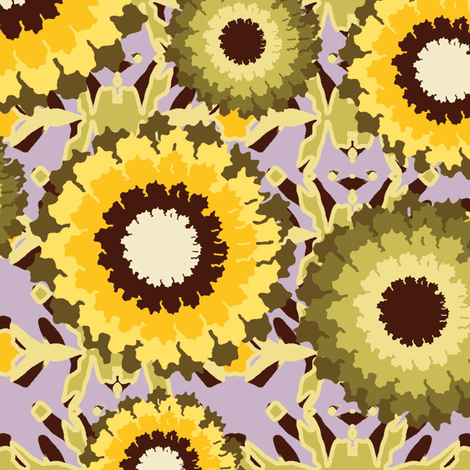 Floral Trellis fabric by kathyjuriss on Spoonflower - custom fabric