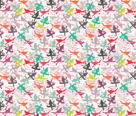 pajaritos_in_love fabric by blimblimb on Spoonflower - custom fabric
