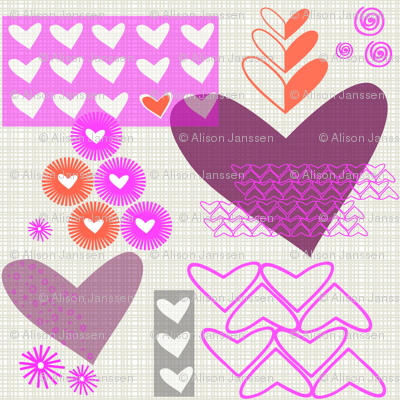 construction paper valentine