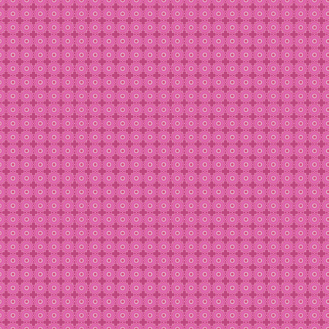 Ditsy Pink Flower fabric by brainsarepretty on Spoonflower - custom fabric