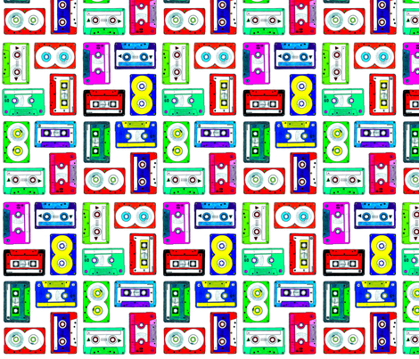 Tapes fabric by holiday on Spoonflower - custom fabric