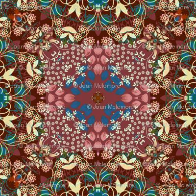 Victorian silk
