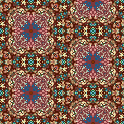 Victorian silk fabric by joanmclemore on Spoonflower - custom fabric