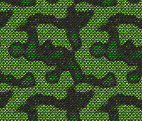 DC-SnakeScalesSkinSeamless2-12in fabric by ohsofab on Spoonflower - custom fabric