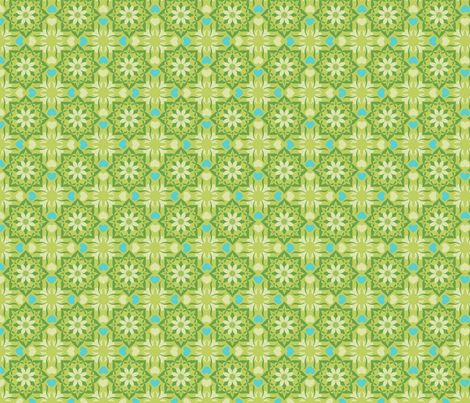 Moroccan garden apple fabric by cjldesigns on Spoonflower - custom fabric