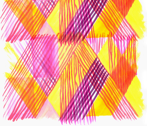 Slipstreams  fabric by atelierk on Spoonflower - custom fabric