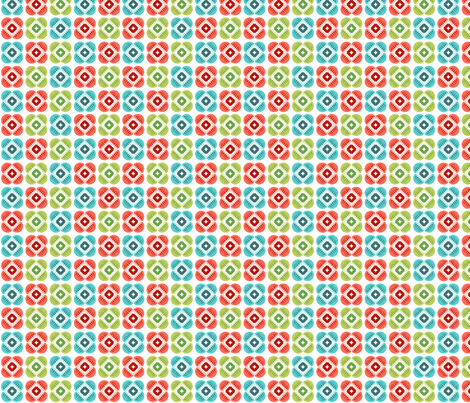 Flower spot fabric by cjldesigns on Spoonflower - custom fabric