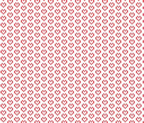heart_Pattern fabric by phildesignart on Spoonflower - custom fabric