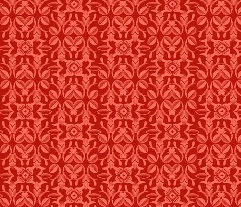 Ornate garden rose fabric by cjldesigns on Spoonflower - custom fabric