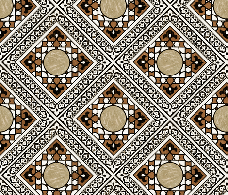 islam5a fabric by unseen_gallery_fabrics on Spoonflower - custom fabric