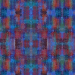 Approximate plaid - marine brush
