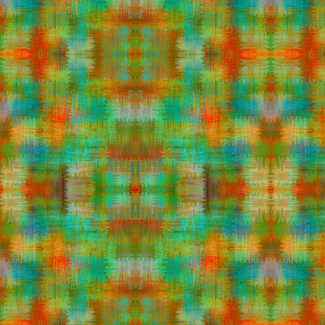 Approximate plaid - Summertime brush fabric by glimmericks on Spoonflower - custom fabric