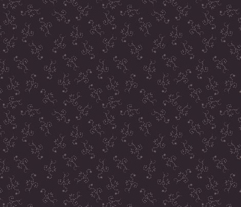 retro floral pattern fabric by anastasiia-ku on Spoonflower - custom fabric