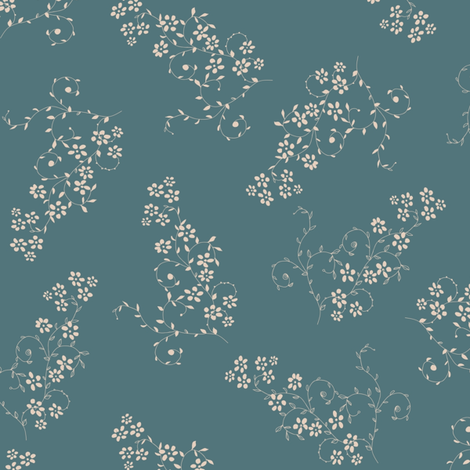 Classical Victorian English dress pattern fabric by anastasiia-ku on Spoonflower - custom fabric