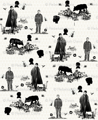 Sherlock Toile Largest