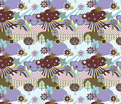 Fabric_Pop_Land2 fabric by vannina on Spoonflower - custom fabric
