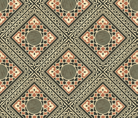 islam5 fabric by unseen_gallery_fabrics on Spoonflower - custom fabric