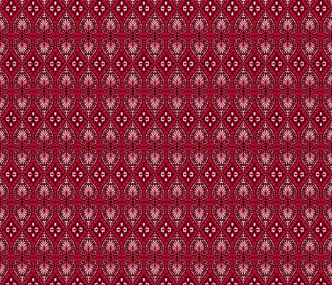 The Ideal Heartburst fabric by joonmoon on Spoonflower - custom fabric