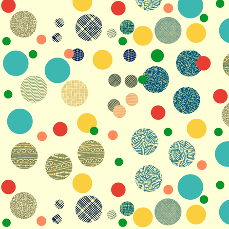 Envelope Dots fabric by boris_thumbkin on Spoonflower - custom fabric