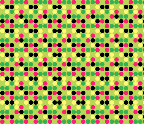 Dot Dot Dot fabric by thesugarwitch on Spoonflower - custom fabric