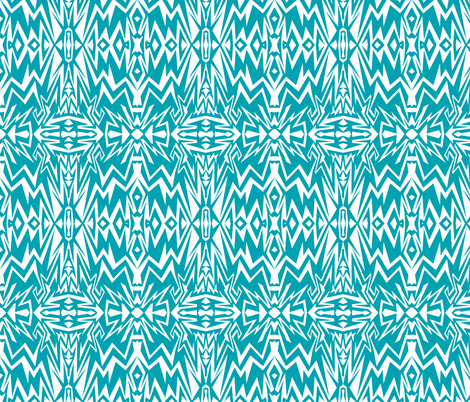 purpleblue_zigs-ch-ch fabric by sewbiznes on Spoonflower - custom fabric