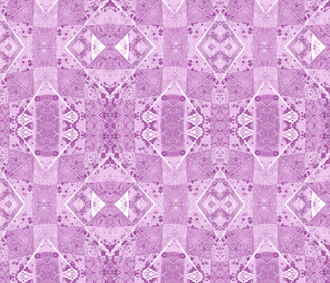 Fragments3 purple fabric by koalalady on Spoonflower - custom fabric