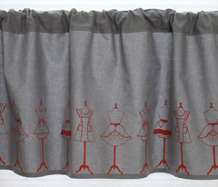 Vintage Aprons in warm gray