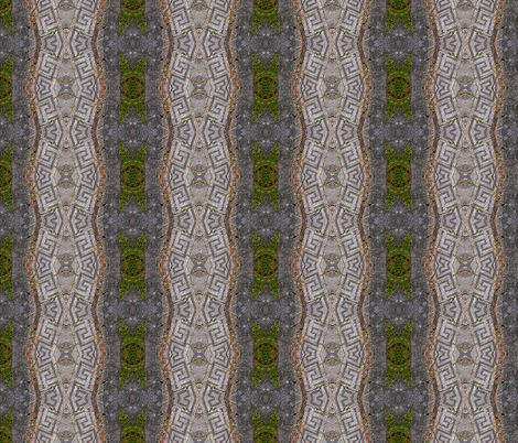 Fragmented pathway fabric by koalalady on Spoonflower - custom fabric