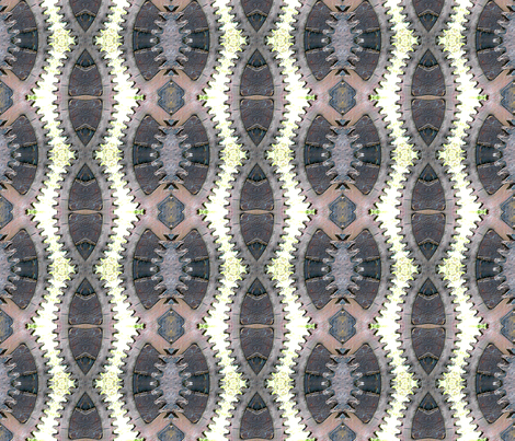 Gears fabric by koalalady on Spoonflower - custom fabric