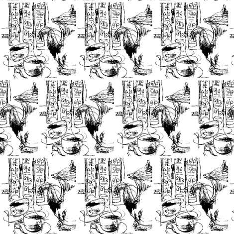 Morning Coffee fabric by annieleon on Spoonflower - custom fabric