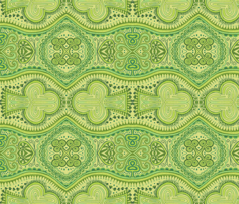Shamrocked fabric by katiame on Spoonflower - custom fabric