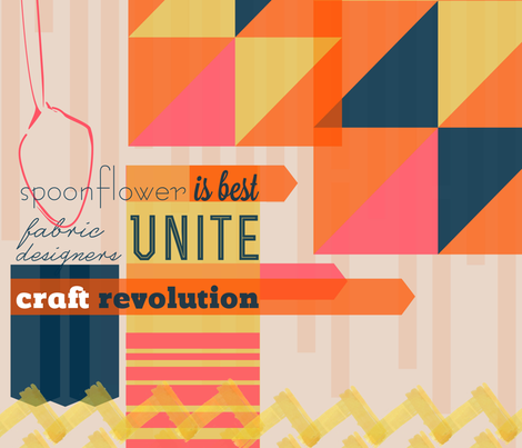 Craft Revolution fabric by khatfield on Spoonflower - custom fabric