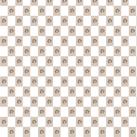 chessflower fabric by alplo on Spoonflower - custom fabric