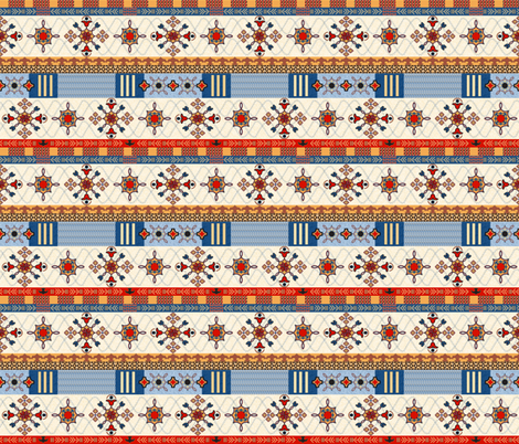Amhara fabric by mag-o on Spoonflower - custom fabric