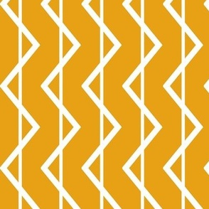 Chevron sunshine stripe