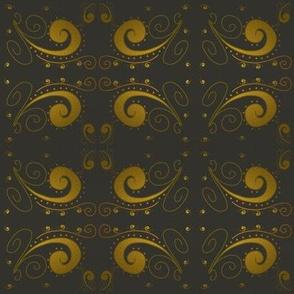Gold scallops