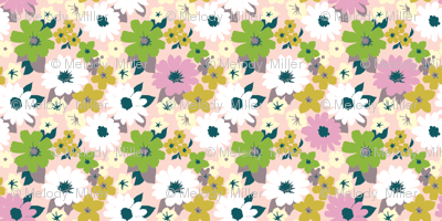vintage floral wallpaper