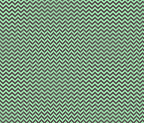 Dark Foam Chevron fabric by sugarxvice on Spoonflower - custom fabric