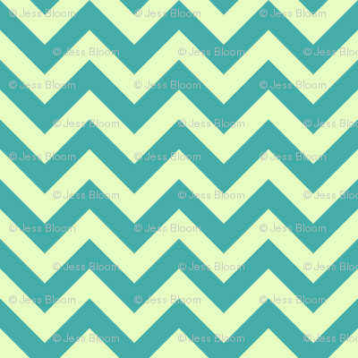 Bright Sea Chevron