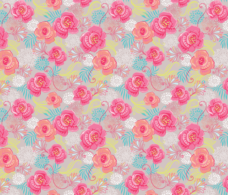 Margaret's Day In fabric by meganhagelcreative on Spoonflower - custom fabric
