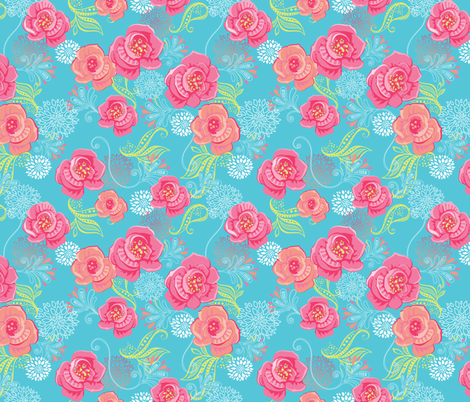 Margaret's Day Out fabric by meganhagelcreative on Spoonflower - custom fabric