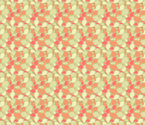 Splash of Melon fabric by sugarxvice on Spoonflower - custom fabric