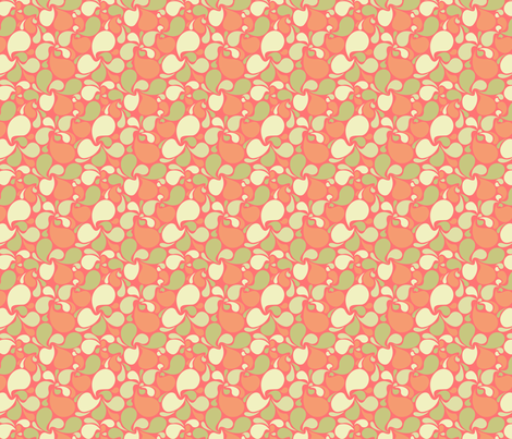 Third Splash of Melon fabric by sugarxvice on Spoonflower - custom fabric